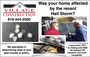 Was your roof damaged?